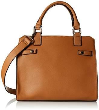 Pimkie Women's Scs18 Cabstripes Top-Handle Bag Brown