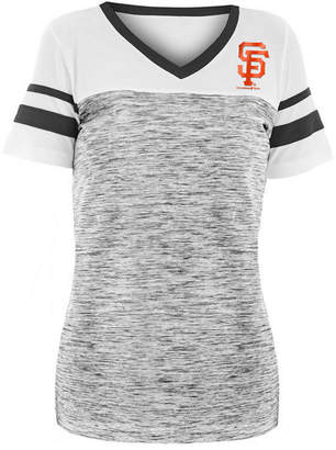 5th & Ocean Women San Francisco Giants Space Dye Back T-Shirt