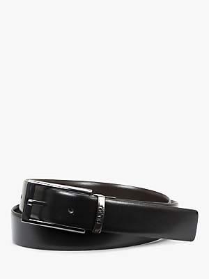 89cc3f8063 HUGO BOSS HUGO by Elvio-U Smooth Leather Reversible Belt, Black/Brown