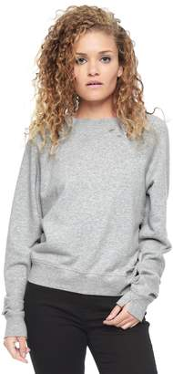 Juicy Couture Distressed Mineral Wash Sweatshirt