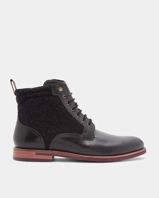 Ted Baker AXTONI Burnished leather ankle boots