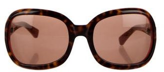 Paul Smith Oversize Tortoiseshell Sunglasses $65 thestylecure.com