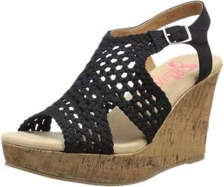 Jellypop Women's Mosaic Wedge Sandal