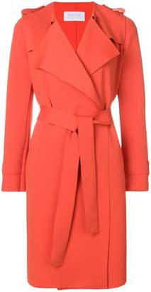 Harris Wharf London waterfall trench coat
