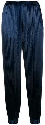 Krizia pleated tapered trousers