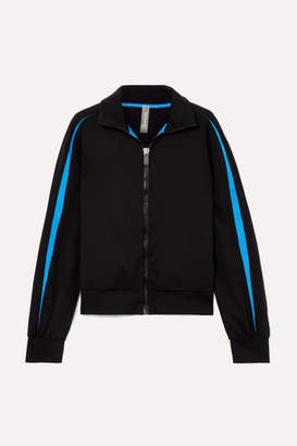 NO KA 'OI No Ka'oi Ikena Nola Striped Stretch Track Jacket