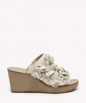 Sole Society Poppie Floral Platform Wedge