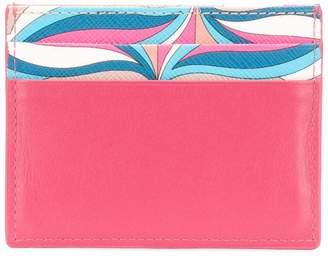 Emilio Pucci printed cardholder