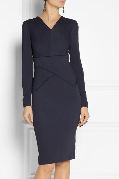 Roland Mouret Navona stretch-crepe dress