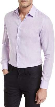 Giorgio Armani Linen Melange Sport Shirt