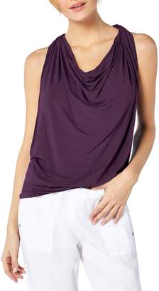 Michael Stars Drape Neck Jersey Top