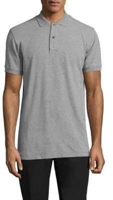 Tomas Maier Buttoned Cotton Polo