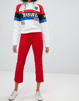 Polo Ralph Lauren Staight Leg Cut Off Jeans