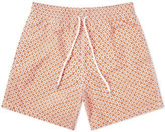 Hartford Dots Print Swim Short