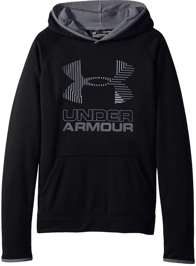Under Armour Kids SG Armour Fleece Solid Big Logo Hoodie (Big Kids)