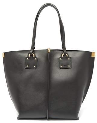 Chloé Vick Leather Tote Bag - Womens - Black