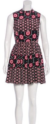 Sandro Silk Printed Dress $125 thestylecure.com