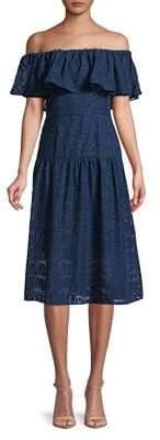 Cooper St Off-the-Shoulder Tea Dress