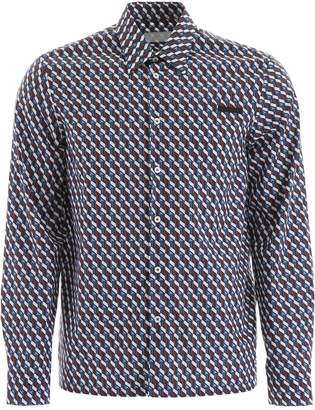 Prada Geometric Printed Shirt