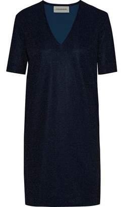 By Malene Birger Glitasi Metallic Stretch-Knit Mini Dress