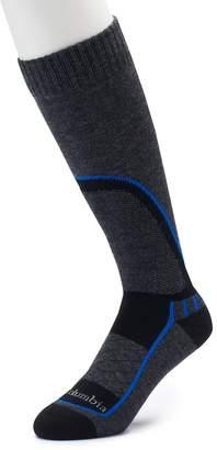 Columbia Men's Wool-Blend Over-The-Calf Ski Socks