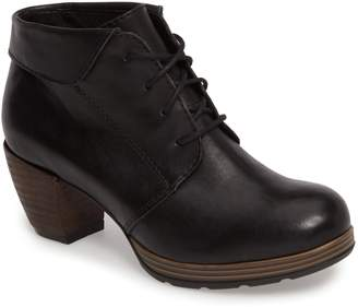 Wolky Jacquerie Lace-Up Bootie