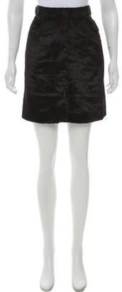 MAISON KITSUNÉ Textured Mini Skirt