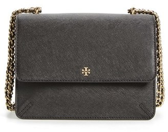 Tory Burch 'Robinson' Convertible Leather Shoulder Bag $395 thestylecure.com
