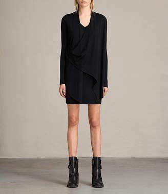 AllSaints Drina V-Neck Dress
