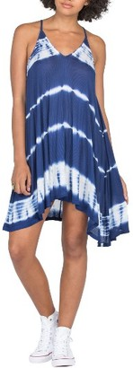 Women's Volcom Painting The Town Tie Dye Dress $45 thestylecure.com