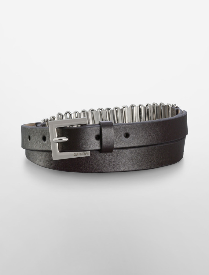 Chain Link Inset Belt