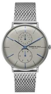Kenneth Cole Dress Sport Stainless Steel Mesh Bracelet Watch