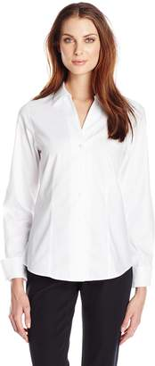 Foxcroft Women's Long Sleeve Lauren Non Iron Shirt
