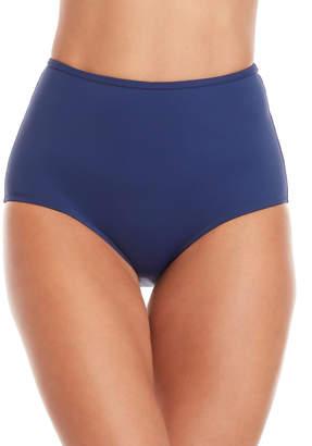 Solid & Striped Navy Brigitte High-Waisted Bikini Bottom