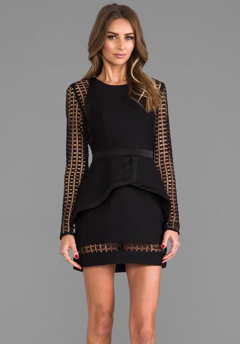 Cameo De Novo Long Sleeve Dress