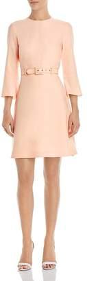 Shoshanna Odila Belted Crepe Dress
