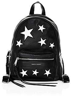Rebecca Minkoff Women's Star Patch Leather MAB Backpack