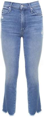 Mother The Rascal Ankle Chew Chewed-hem Mid-rise Jeans