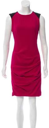 Yigal Azrouel Colorblock Crepe Dress