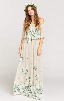 Show Me Your Mumu Hacienda Maxi Dress ~ Bouquet Toss