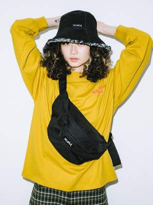 X-girl (エックス ガール) - エックスガール BOX LOGO HIP BAG