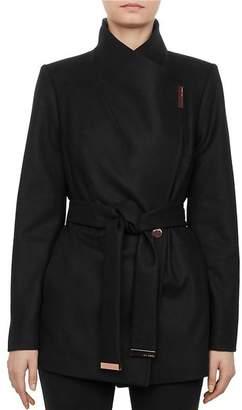 Ted Baker Rytaa Short Belted Wrap Coat