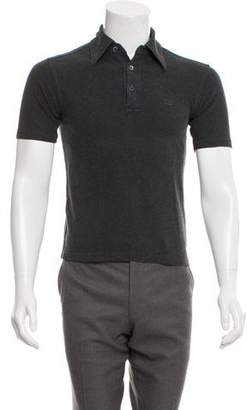 Gucci Vintage Short Sleeve Polo Shirt