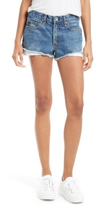 Women's Rag & Bone/jean Margaux High Waist Denim Shorts $195 thestylecure.com