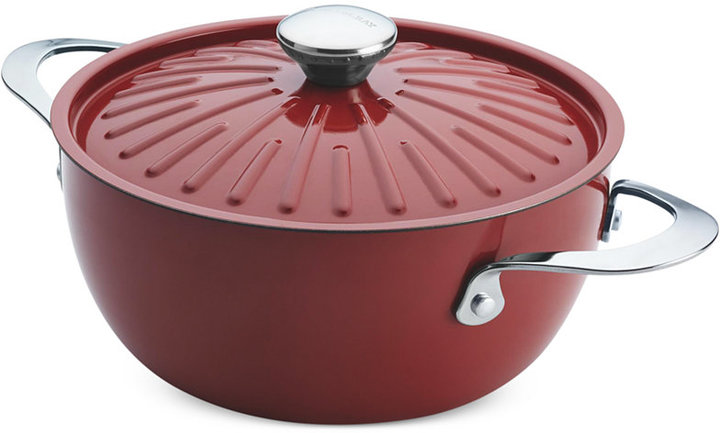 Rachael Ray Cucina Oven-To-Table Hard Enamel Nonstick 4.5 Qt. Covered Round Casserole