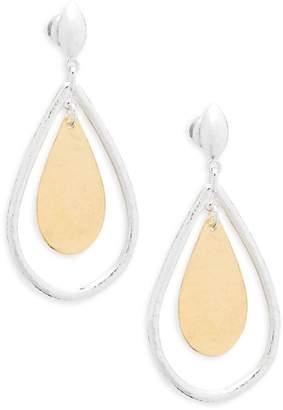 Gurhan Women's Sterling Silver Two-Tone Drop Earrings