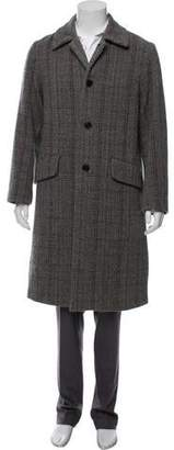Acne Studios Herringbone Wool Coat