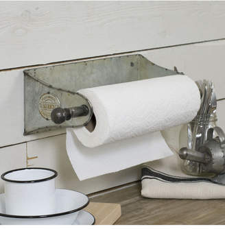 Vip Home & Garden Metal Wall Paper Towel Holder