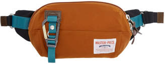 Master-piece Co Orange Link Waist Pouch