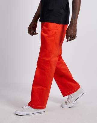 Dickies 874 Original Fit Contrast Work Pant Orange